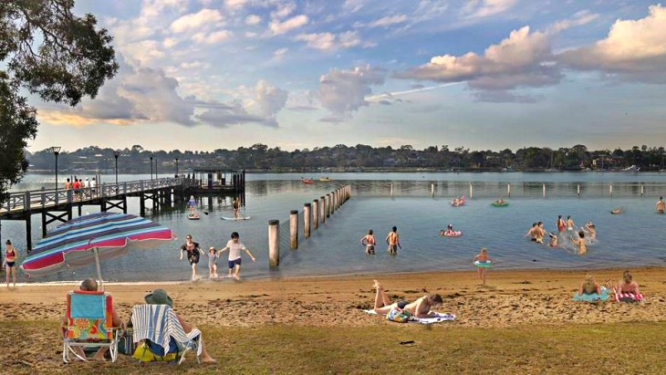 Bayview swim site artist impression