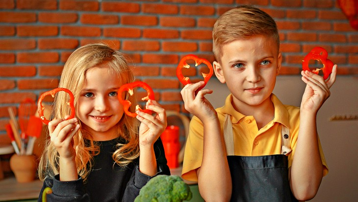 Canva go kidz healthy foods