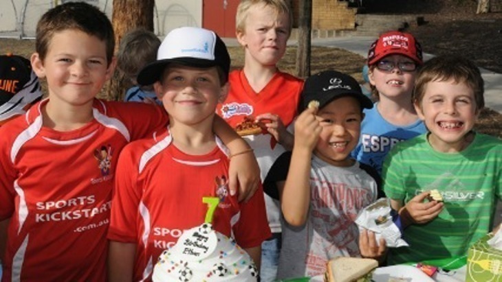 Soccer kickstart soccer camps birthday parties sports parties sydney kids active kids