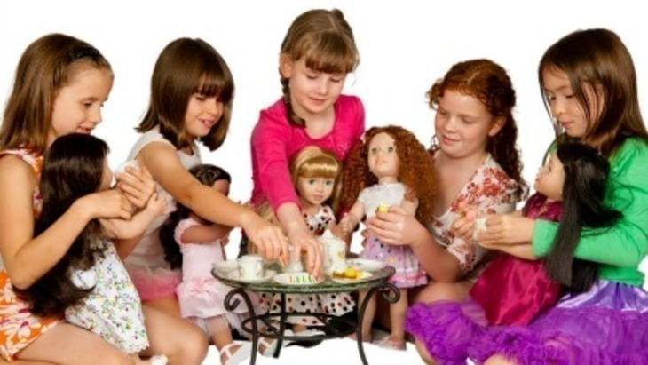 American Girl (45cm) Girl doll clothes > American Girl. These clothes are designed for American Girl® dolls and other similar sized dolls approximately 45cm (18
