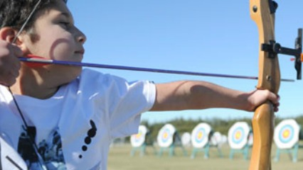 Sydney Olympic Park Archery Centre For Holiday Camps Parties