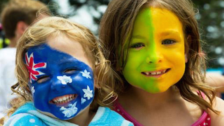 Whats on for kids on australia day