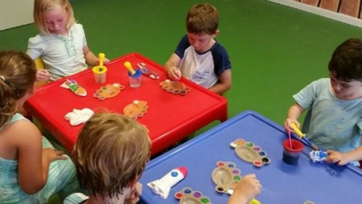 Mess and learn indoor play centre maroubra kids play craft