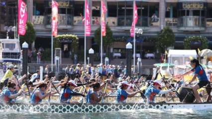 Dragon boat races darling harbour chinese new year kids activities sydney events