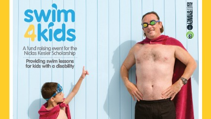 Little heroes swim academy learn to swim kids with disability bondi icebergs prince alfred pool swim safety swim classes