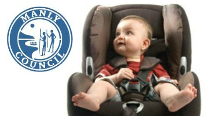 Manly manly council is offering a free child car seat restraint checking day
