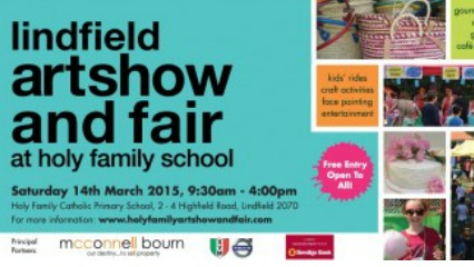 Lindfield art show family fair north shore sydney kids family
