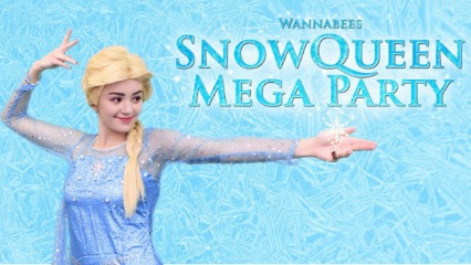 Wannabees five dock indoor play centre sydney kids toddlers play groups disco frozen snow queen mega party