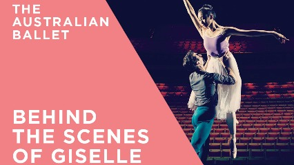 Giselle opera house sydney ballet company behind the scenes ballet classes sydney kids1