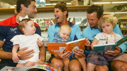 Dads read waverley council kids toddlers literacy numeracy eastern suburbs