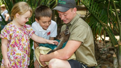Featherdale wildlife free entry in july wallaby doonside blacktown north west sydney