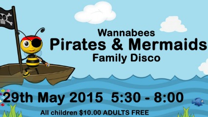 Wannabees pirates mermaids family disco frenchs forest north shore mums sydney kids dance classes family fun