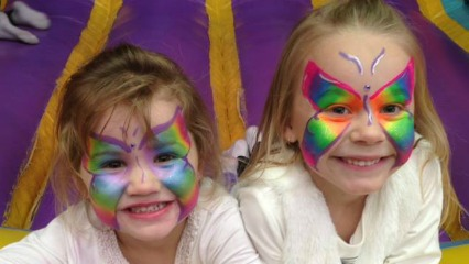 Funtime 4 kids laser tag face painting indoor play centres sydney kidsmenai sutherland shire south sydney