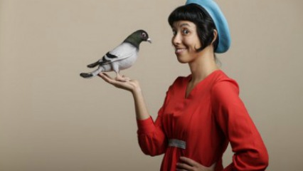 Zen the pigeon girl sabrina dangelo bondi pavillion theatre waverley council eastern suburbs rock surfers theatre kids shows