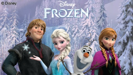 Frozen with bg1