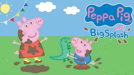 Peppa pig live big splash life like touring chatswood concourse roslyn packer theatre