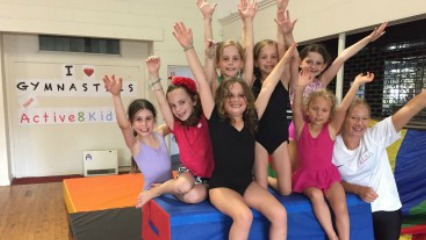 Active8 kids gymnastics fit kids sydney kids school holiday camps eastern suburbs