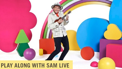 Play along with sam live the essential baby toddler show fairfax media