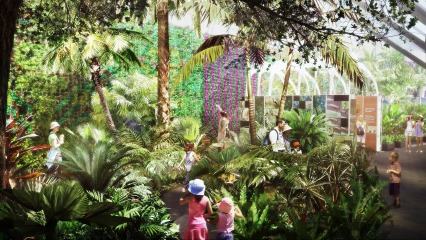 160611 Thecalyx 426x2401. Introducing Sydneyu0027s Newest Attraction At The Royal  Botanic Garden ...