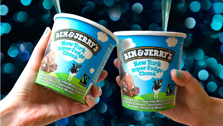 Free tubs ben and jerrys