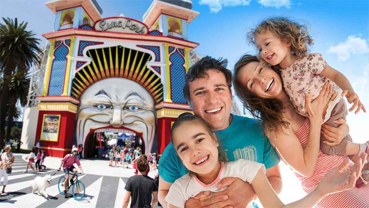 Father's day at luna park