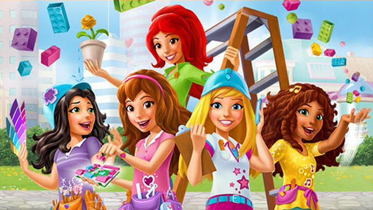 Lego friends zone