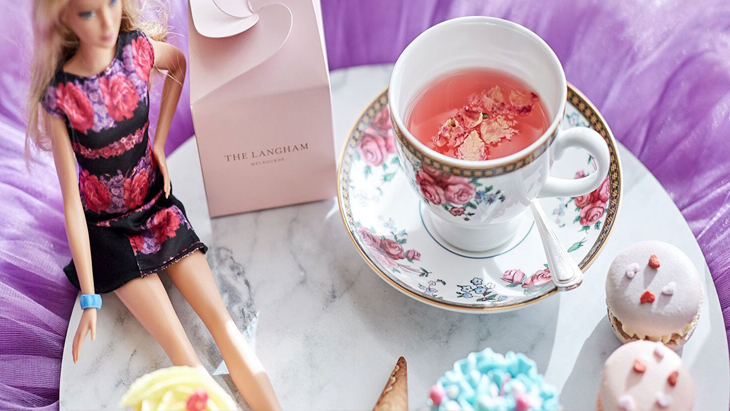 Barbie high tea