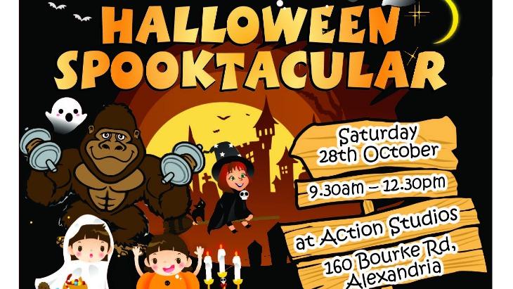 Halloween Spooktacular at Action Kids | ellaslist