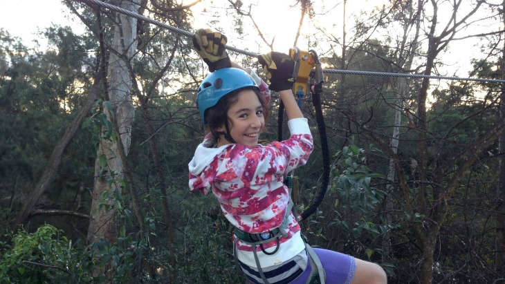 Trees adventure spring school holidays