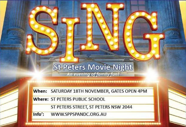 St peters public school movie night logo edited