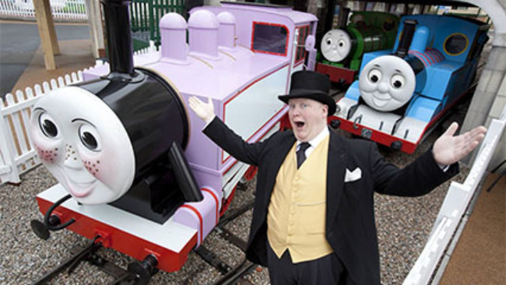 Ellaslist steams into thomas land uk 426x240