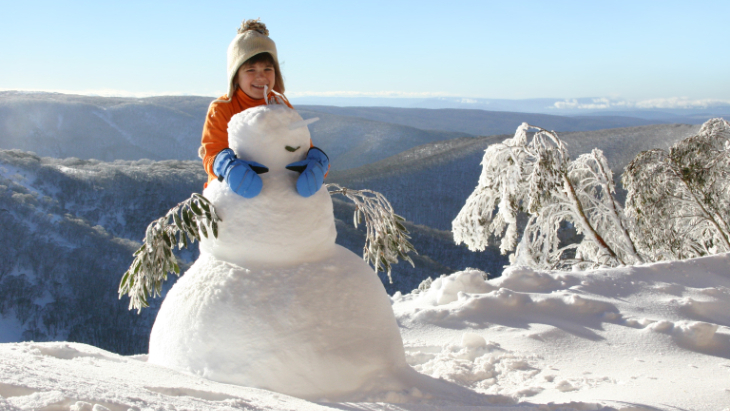 Best places for snow victoria