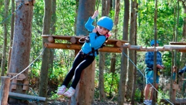 Tree top adventure park central coast