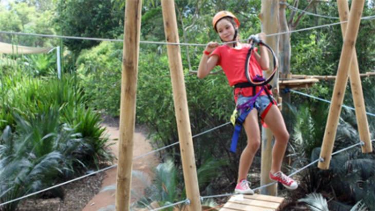 Urban jungle adventure park