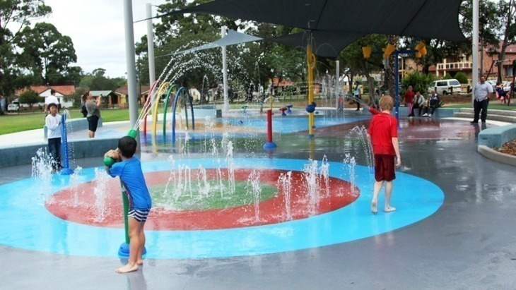 Granville water play