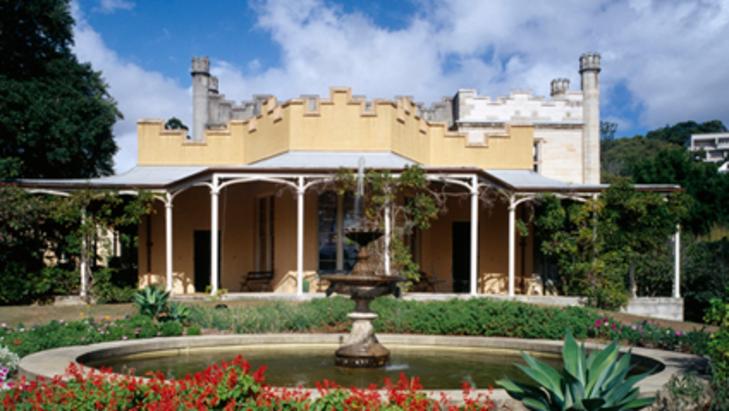 Vaucluse house gardens