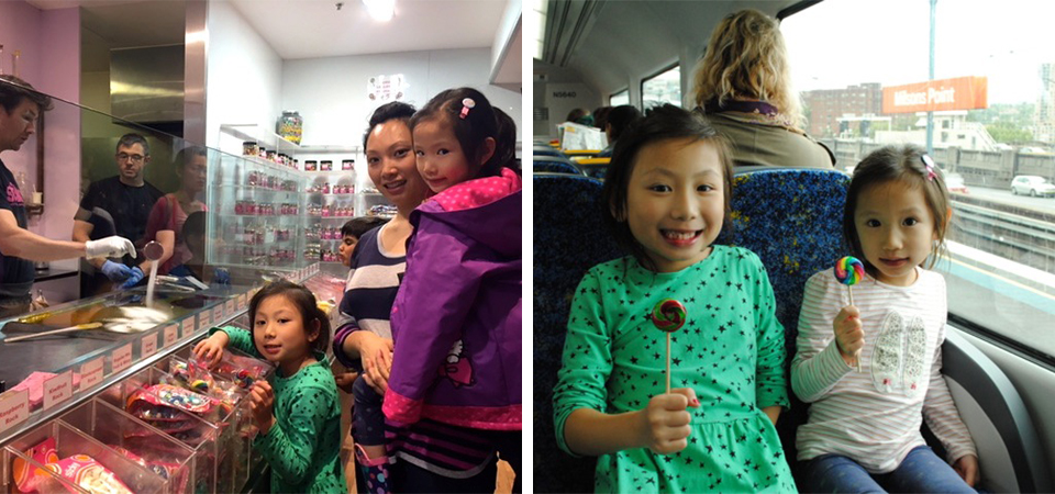 Summer School Holiday Fun At The Rocks Sydney With Kids - Sticky Lolly Making