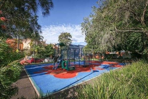 Franklyn Street, Glebe Sydney - 21st June 2015. Franklyn Street Playground.