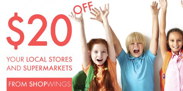 ShopWings $20 off voucher code discount _ellaslist