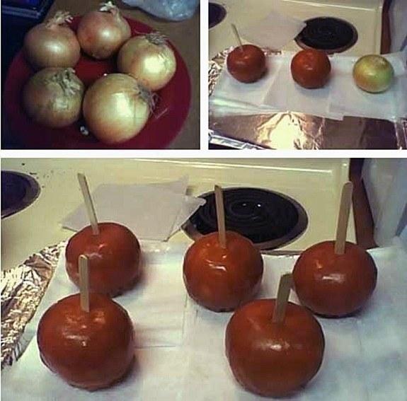 onion apples