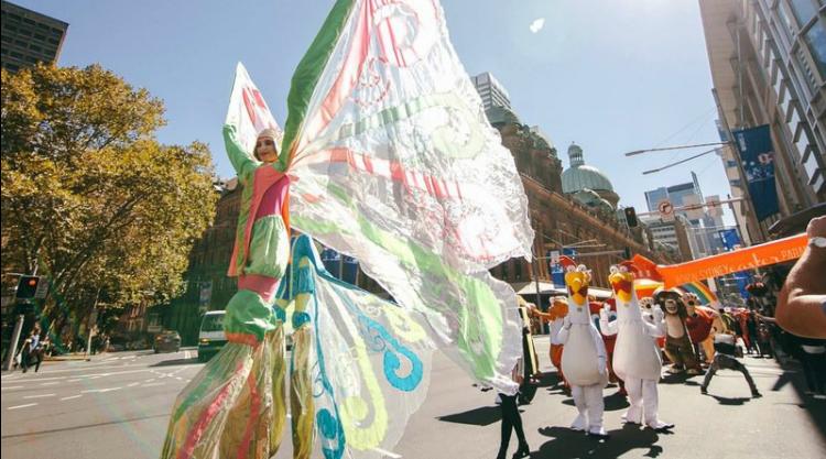 sydney easter parade