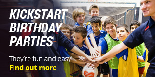 sports birthday parties sydney sports kickstart