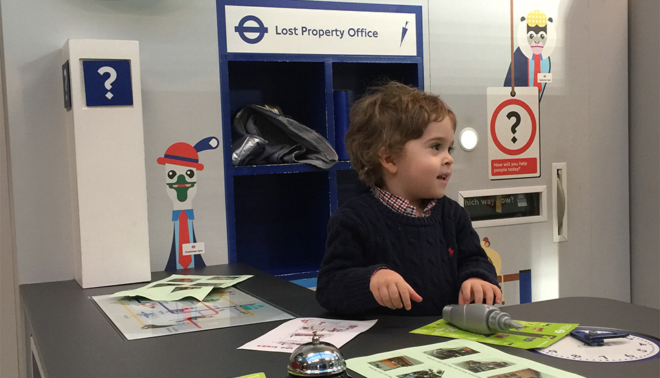 London Transport Museum For Kids