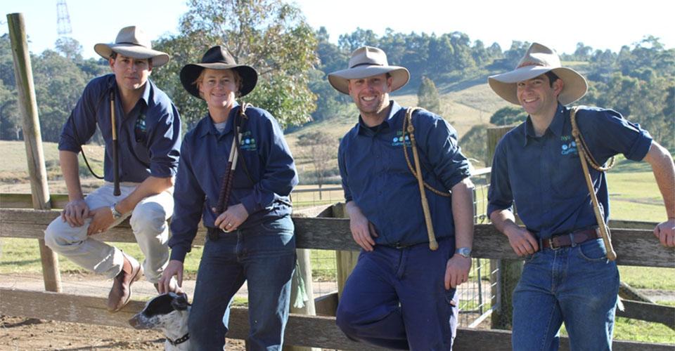 Noah Moseley Farm Manager and Team At Calmsley Hill City Farm Sydney