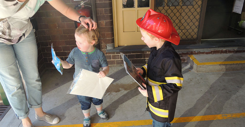 NSW Fire Station Open Day 2016 - LEGO City Goodies For Kids