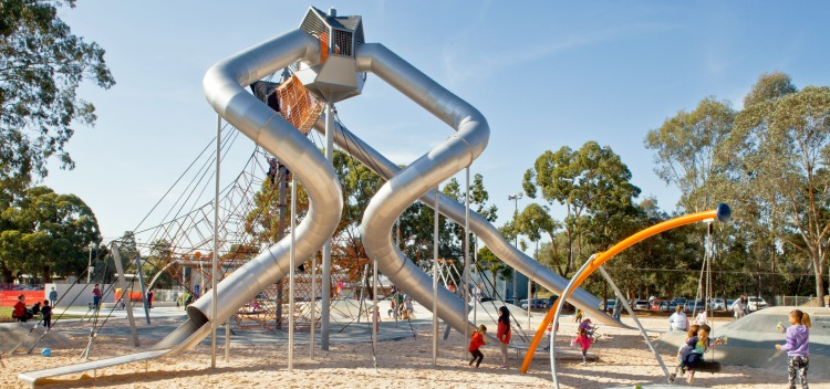 Six Of The Best New Playgrounds In Sydney Ellaslist - 15 of the worlds coolest playgrounds