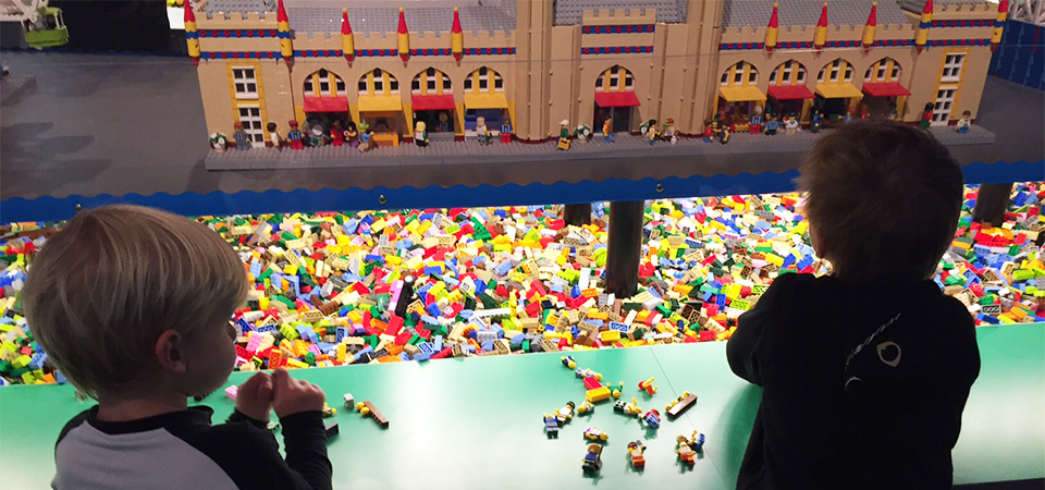 Sydney Harbour Icons LEGO at Museum of Sydney