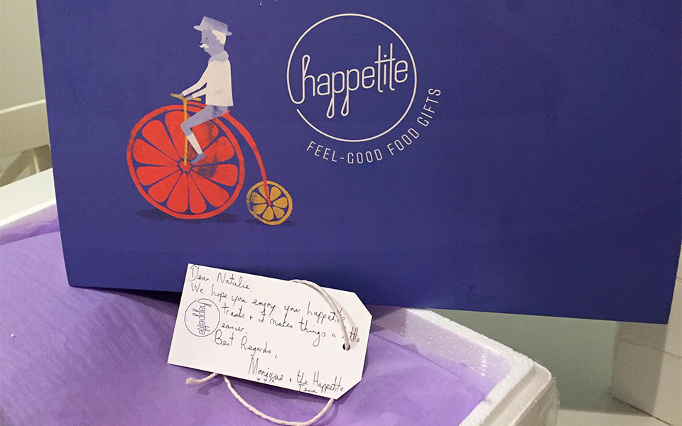 Happetite Food Gift Delivery For New Mum Sydney - The Box Arrives 960x500