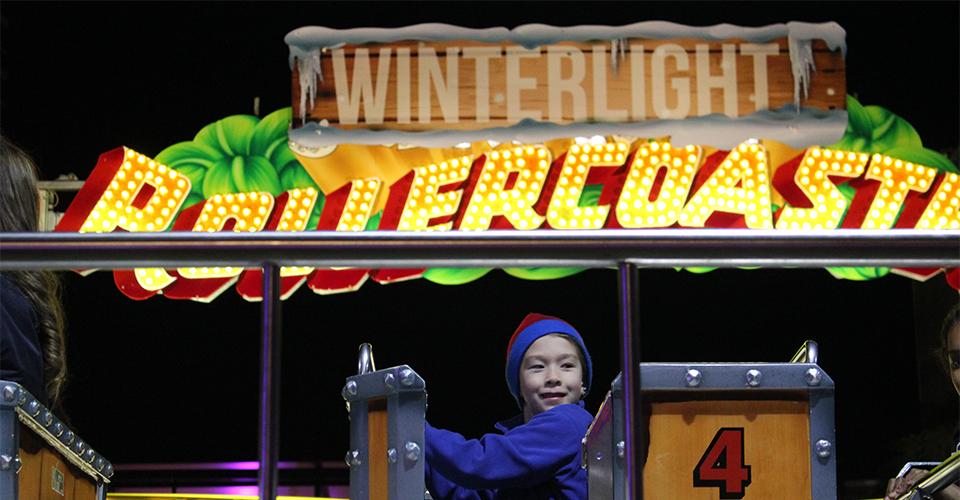 Parramatta Winterlight Festival reviewed - kids' rides 960x600