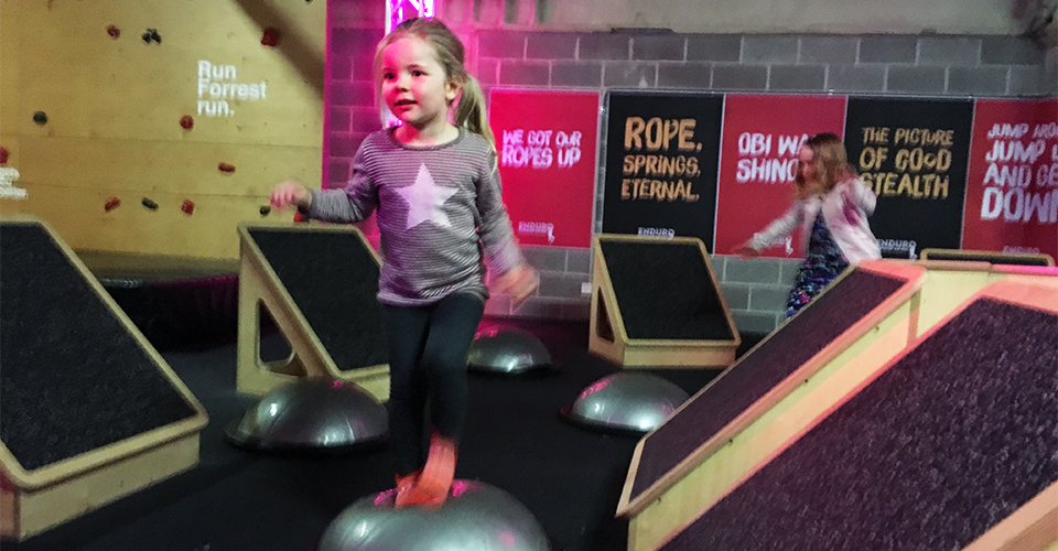 Sky Zone Birthday Party Reviewed 960x500 - Obstacle Course
